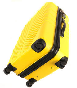 "Constellation LG00418 28"" Yellow Arc ABS Suitcase Thumbnail 4"