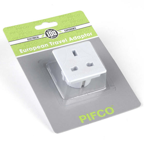 Pifco PIF2067 European Travel Adaptor