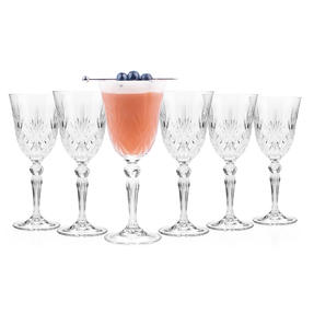 RCR 25601020006 Luxion Melodia Crystal Wine Glasses Set Of 6 Thumbnail 1