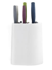 Salter BW05394 Smart Locking Knife Block Set, 5 Piece, Multicolour Thumbnail 2
