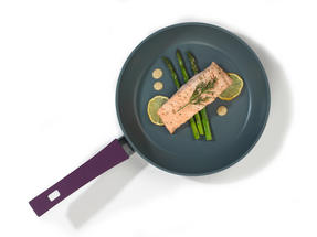 Progress BW04954 Forged Aluminium Purple 24 cm Non Stick Frying Pan Thumbnail 2