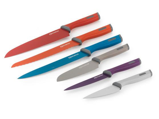 Progress BW05091 Colour 6 Piece Knife Set