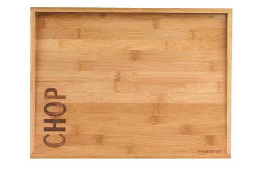 Progress BW05280 40 cm Double Sided Bamboo Meat Chopping Board