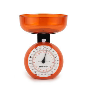 Progress Orange 5 kg Orb Kitchen Scale
