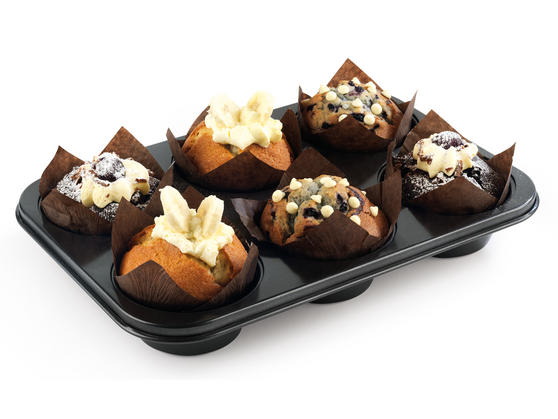 Progress BW05362 6 Cup Muffin Tray