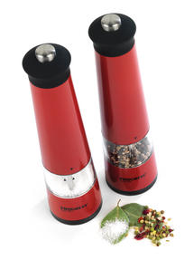 Progress BW05376 Set of 2 Red Electric Mills with Light Thumbnail 1
