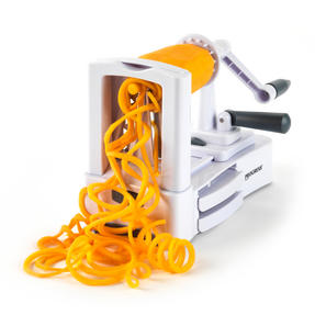 Progress 3 Blade Slate and White Fruit and Vegetable Spiralizer