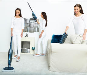 Hoover 39400193 Vortex Cordless Rechargeable 2 in 1 Vacuum Cleaner Thumbnail 3