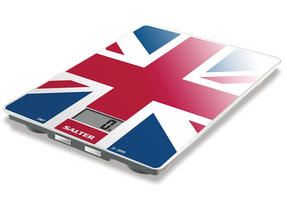 Salter 1100UJDR Best of British Union Jack Electronic Glass Scale Thumbnail 1