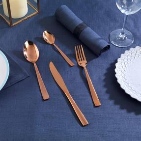 Salter BW05462 Regal 16 Piece Cutlery Set, Rose Gold, 1 Year Guarantee  Thumbnail 2