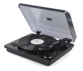 Intempo Black Stylus Mark 2 Turntable
