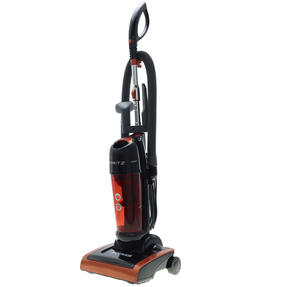 Hoover 39100442 Spritz Bagless Upright Vacuum Cleaner in Black and Orange