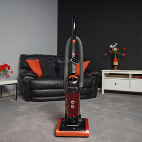 Hoover 39100442 Spritz Bagless Upright Vacuum Cleaner in Black and Orange Thumbnail 2