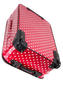 "Constellation Suitcase Travel Trolley, 28"", Berry Polka Dot Thumbnail 2"