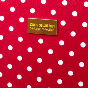 "Constellation Suitcase Travel Trolley, 28"", Berry Polka Dot Thumbnail 5"