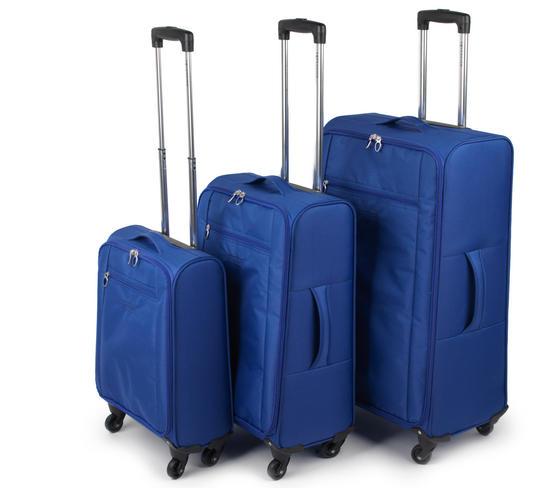 "Constellation Superlite Suitcase Set, 18, 24 & 28"", Blue"