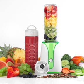 Salter EK2312 Blender to Go, 350 W, White/Green Thumbnail 1