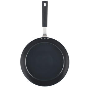 Salter Carbon Steel Pan for Life Frying Pan, 28 cm, Black Thumbnail 2