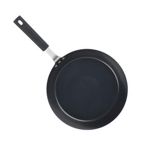 Salter Carbon Steel Pan for Life Frying Pan, 28 cm, Black Thumbnail 4