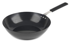 Salter BW05458 Black Kitchen Pan For Life 28 cm Wok