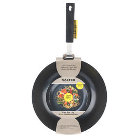 Salter BW05458 Black Kitchen Pan For Life 28 cm Wok Thumbnail 5
