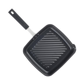Salter BW05459BS Carbon Steel Pan for Life Griddle Pan, 26 cm, Black Thumbnail 4