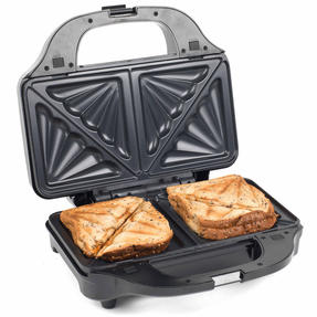 Salter Deep Fill 3-in-1 Snack Maker with Waffle, Panini and Toasted Sandwich Plates, 900 W Thumbnail 5