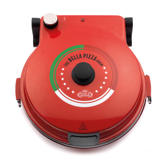Giles & Posner Red Bella Pizza Maker