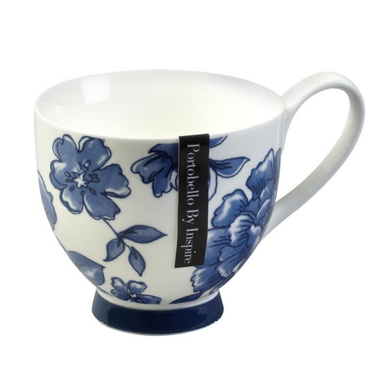 Portobello CM02307 Sandringham Perla Bone China Mug
