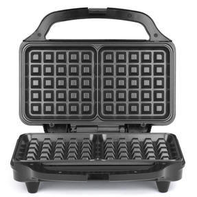 Salter Deep Fill Waffle Maker with XL Non-Stick Cooking Plates, 900 W, Silver	 Thumbnail 3