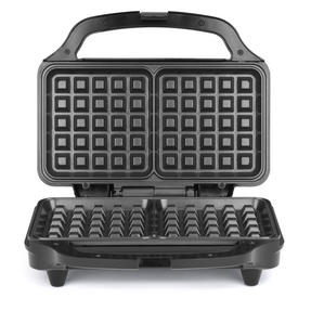 Salter Deep Fill Waffle Maker with XL Non-Stick Cooking Plates, 900 W, Silver	 Thumbnail 8