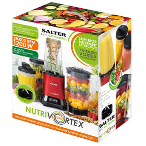 Salter EK2244 Nutri Vortex Super Charged Multi-Purpose Nutrient Extractor Blender, 1.5 Litre, 1200 W Thumbnail 2