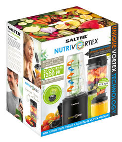 Salter EK2244 Nutri Vortex Super Charged Multi-Purpose Nutrient Extractor Blende Thumbnail 5
