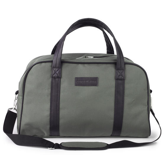 Constellation Faux Leather Carry Holdall, Fern Green