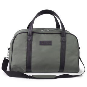 Constellation Faux Leather Carry Holdall, Fern Green Thumbnail 1