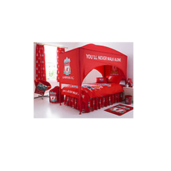 Liverpool Fc United Single Bed Canopy Bedroom NoBrandsYou - Bedroom furniture in liverpool