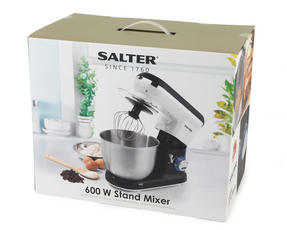 Salter EK2290 Food Stand Mixer 600 Watt Black and White with 4.5 Litre Bowl Thumbnail 8