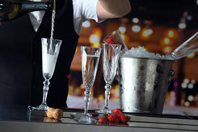 RCR 25600020006 Melodia Crystal Champagne Flutes, 160 ml, Set of 6 Thumbnail 3