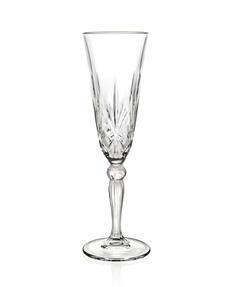 RCR 25600020006 Melodia Crystal Champagne Flutes, 160 ml, Set of 6 Thumbnail 6