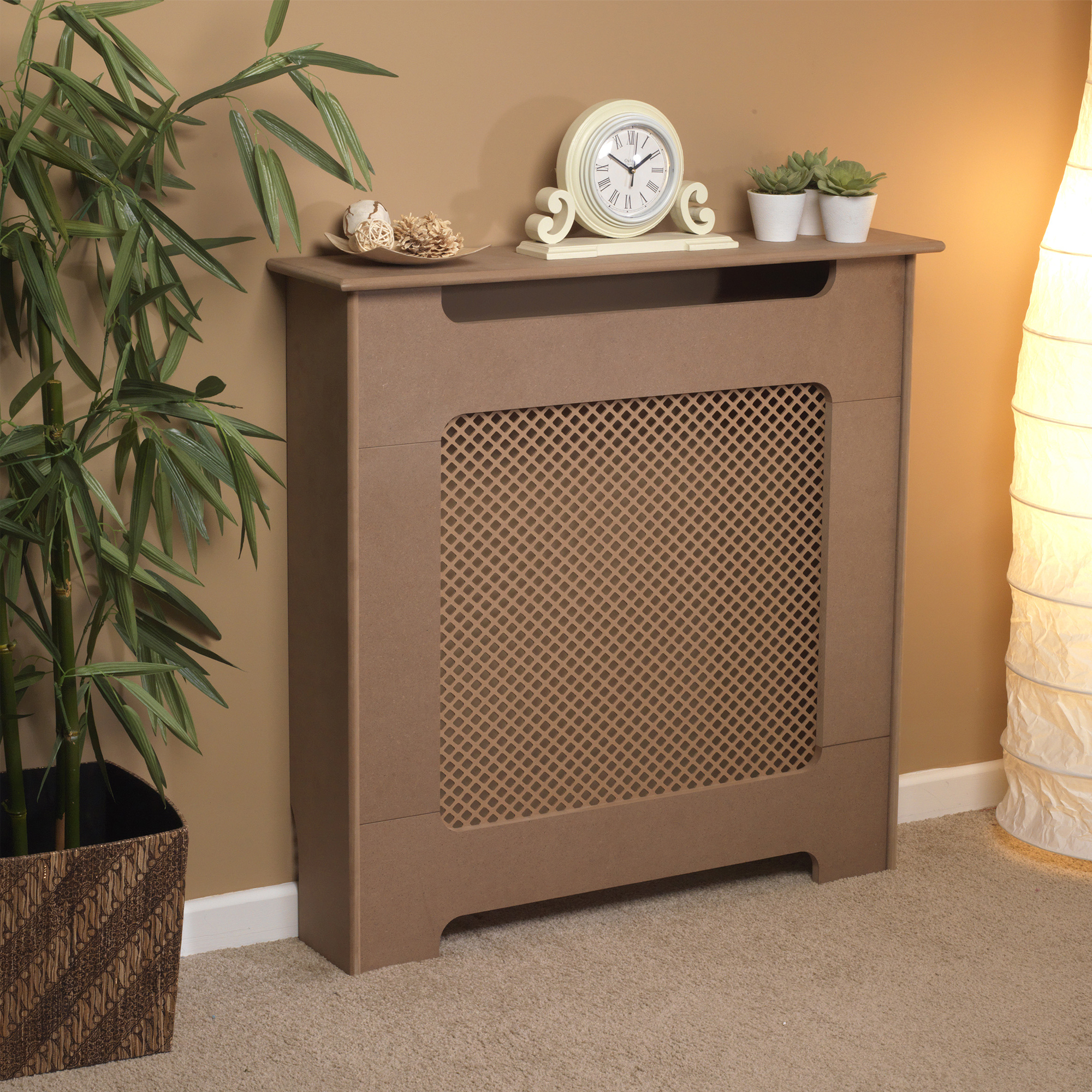 Beldray Eh1837stk Wooden Radiator Cover 100 Fsc Small Natural Finish No1brands4you