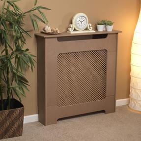 Beldray EH1837STK Wooden Radiator Cover, 100% FSC, Small, Natural Finish Thumbnail 1