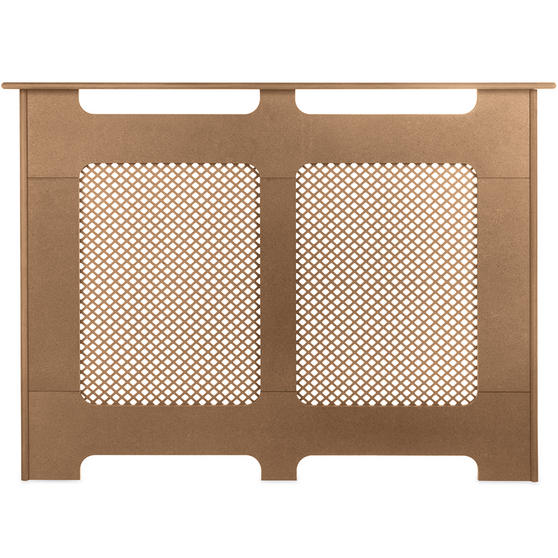 Beldray Wooden Radiator Cover, 100% FSC, Medium, Natural Finish Thumbnail 2