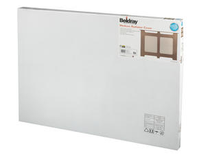 Beldray EH1838STK Wooden Radiator Cover, 100% FSC, Medium, Natural Finish Thumbnail 3