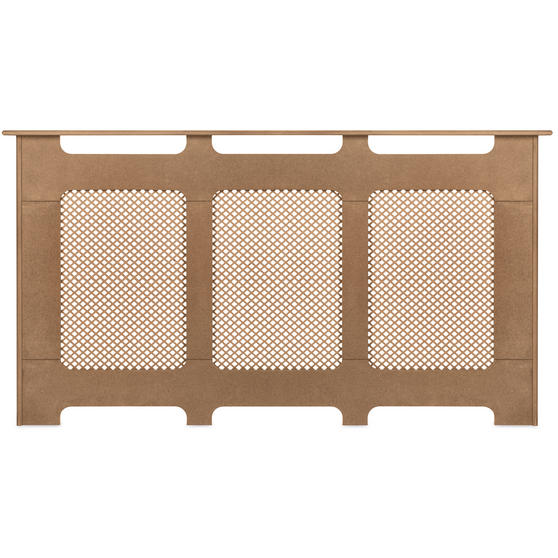 Beldray Wooden Radiator Cover, 100% FSC, Large, Natural Finish Thumbnail 2