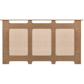 Beldray EH1839STK Wooden Radiator Cover, 100% FSC, Large, Natural Finish Thumbnail 2