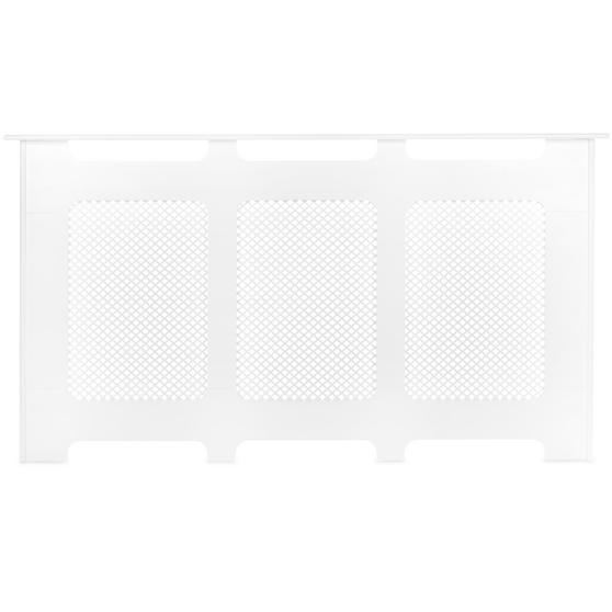 Beldray Wooden Radiator Cover, 100% FSC, Large, White Satin Finish Thumbnail 2
