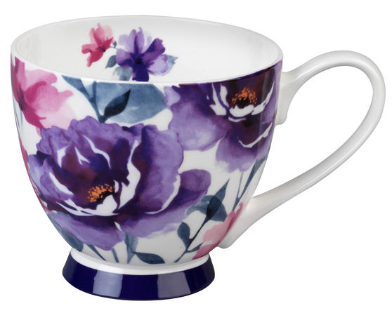 Portobello CM04787 Footed Adora Sandringham Fine Bona China Mug