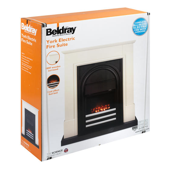 Beldray EH1725 York Electric Fire Suite Thumbnail 2
