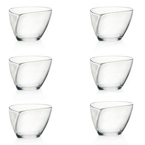 RCR 25512020006 Set of 6 Crystal Happy Bowls