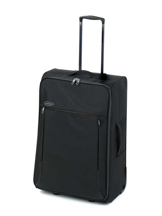 "Constellation Superlite Suitcase, 28"", Black/Grey"